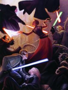Abeloth vs Jedi & Sith