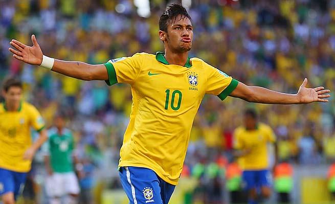 Neymar has his #GAMEFACE on, via SI