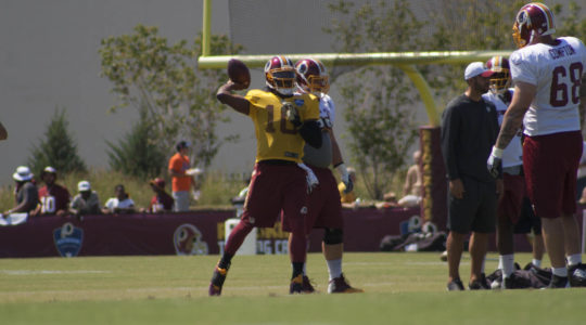 Robert Griffin III #RG3 #SkinsCamp Redskins Training Camp 2015