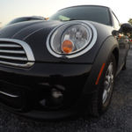 Our Mini Cooper, closeup