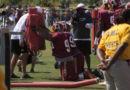 Defensive lineman drills #SkinsCamp Redskins Training Camp 2015