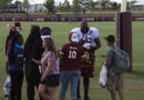 Moses signing autographs #SkinsCamp Redskins Training Camp 2015